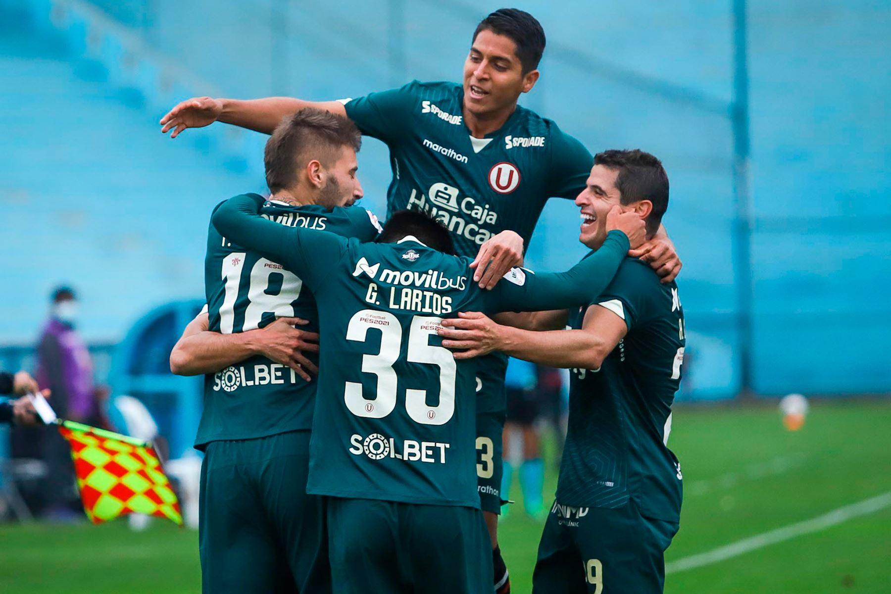 Universitario venció a San Martín con goles de Luis Urruti y Tiago Cantoro. Foto: Twitter Liga 1