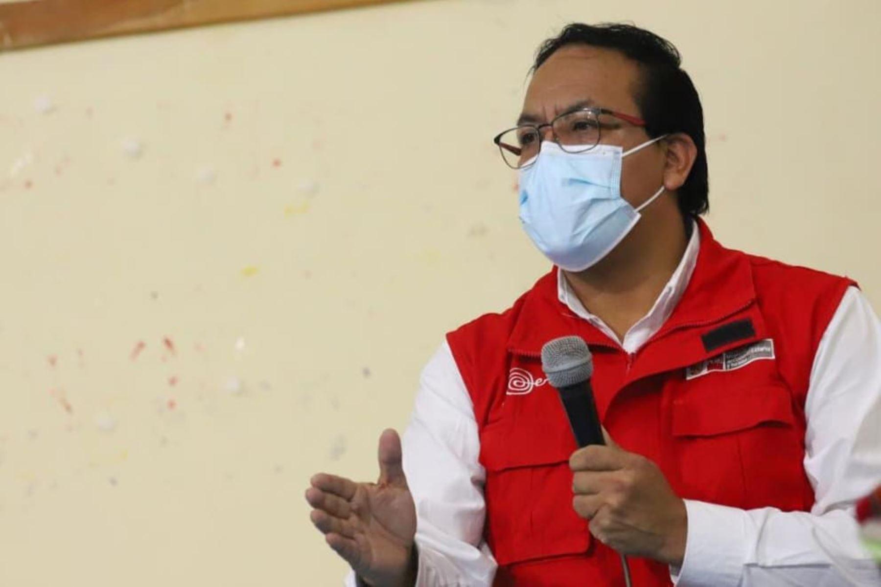 El presidente Pedro Castillo sostuvo un encuentro con los directivos, dirigentes y agricultores de más de 60 cooperativas de productos orgánicos del país, donde reafirmó el compromiso de fortalecer la capacidad exportadora de las comunidades campesinas del Perú. Foto: Prensa Presidencia