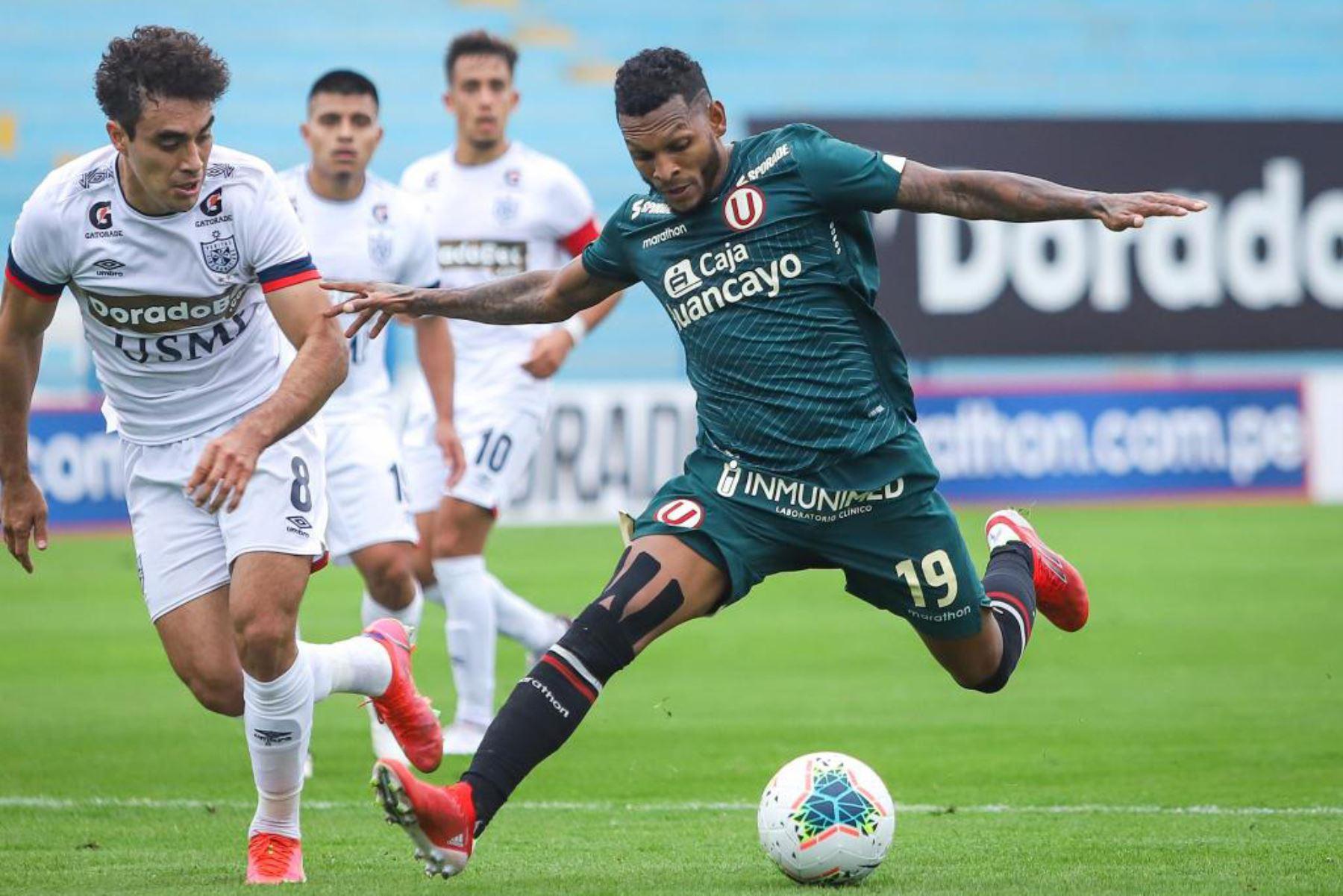 Universitario derrotó 2-0 a la Universidad San Martín en un encuentro por la Fase 2 de la Liga 1. Foto: Liga 1