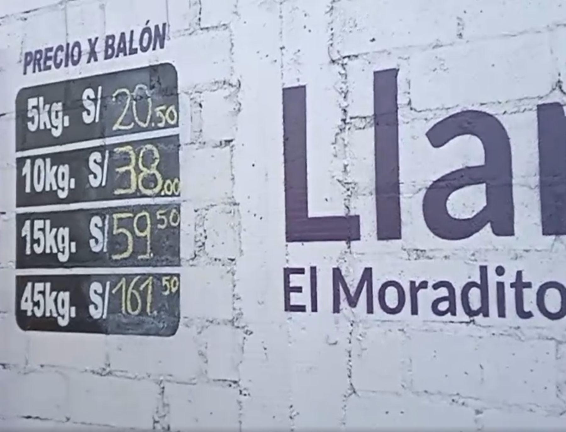 Buena noticia en Arequipa, el precio del balón de gas doméstico de 10 kg se vende ahora a S/ 38, diez soles menos que hace unos días.