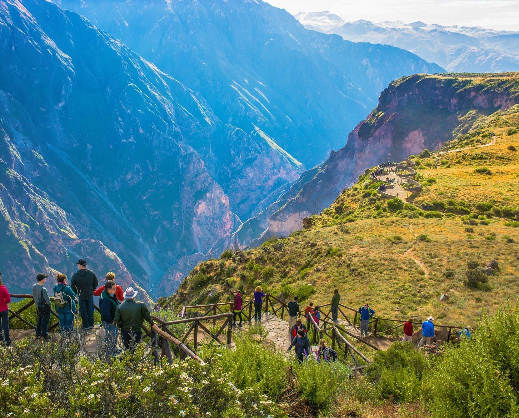 El valle del Colca impulsa la reactivación del turismo en la región Arequipa y en lo que va del año recibió más de 63,000 visitantes. Foto: Autocolca.
