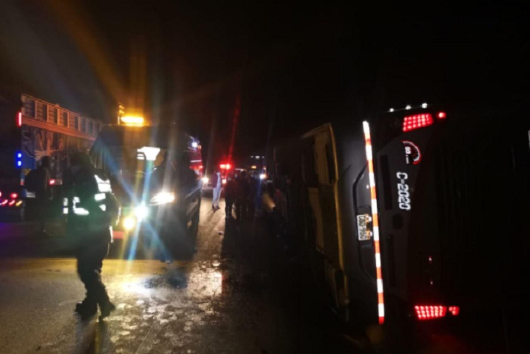 Los heridos fueron trasladados a los hospitales de apoyo de Junín y de La Oroya.