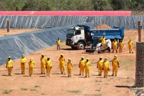 La ciudad de Moyobamba cuenta desde hoy con un moderno complejo para el tratamiento de residuos sólidos. Foto: MINAM/Difusión