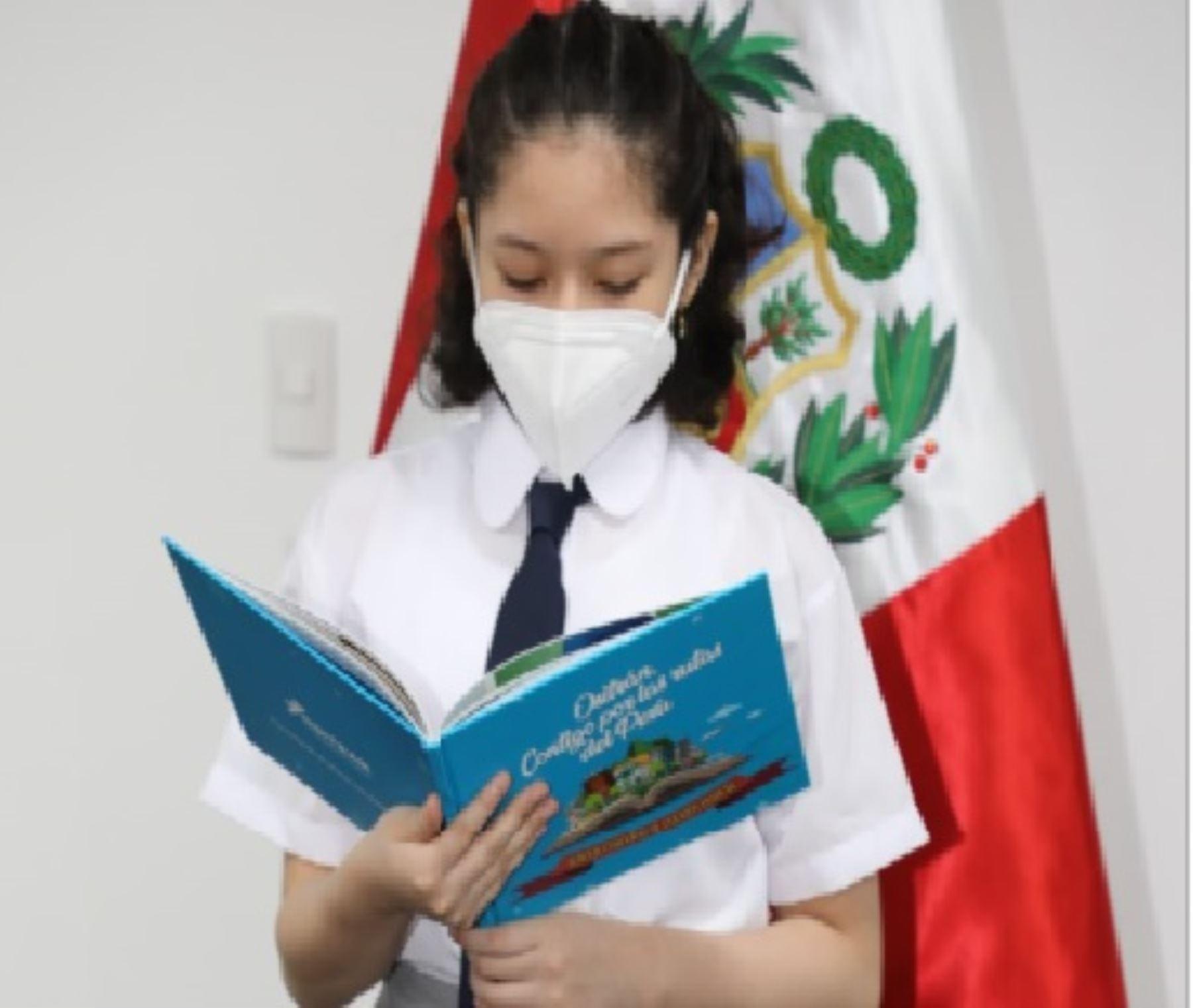 Escolares peruano ya participan en concurso de cuentos Ositrán.