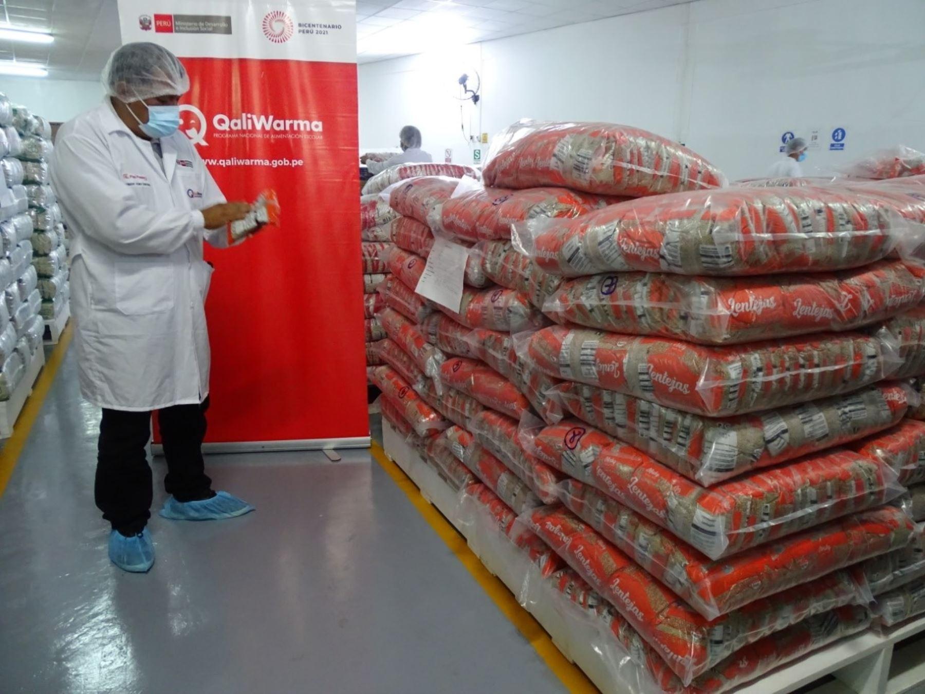 San Martín: Qali Warma supervisa condiciones de almacenes para sexta entrega de alimentos