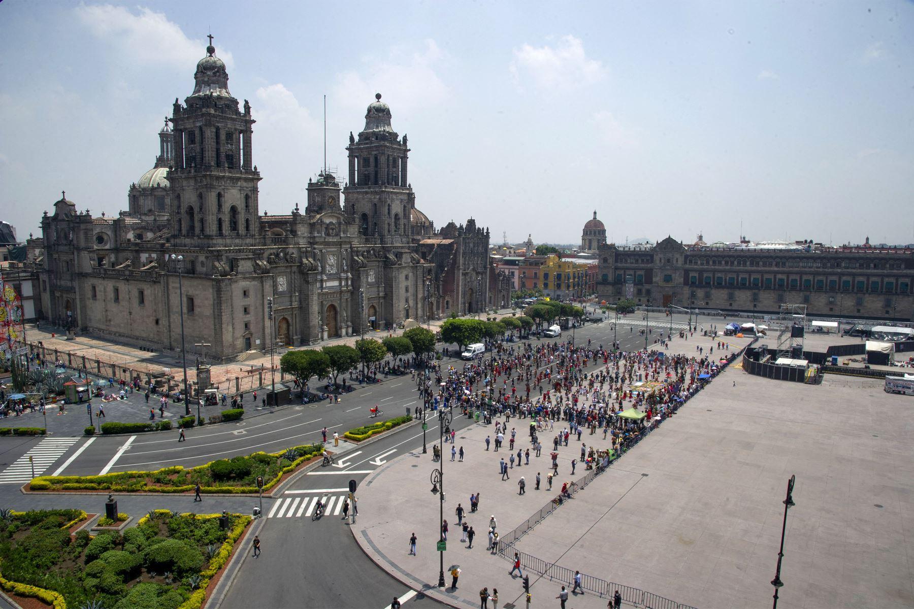 """""""Un solo México, la fiesta"""" celebrará la fuerza y la unión de los mexicanos. Foto: AFP."""