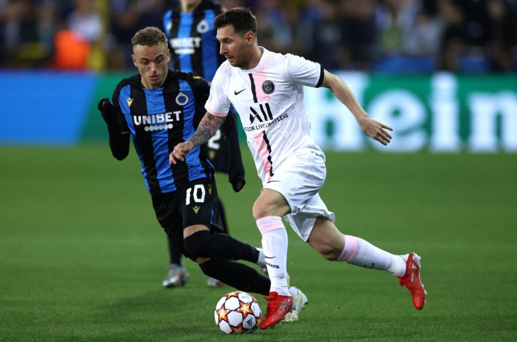 Messi hace su debut con el PSG en una Liga de Campeones