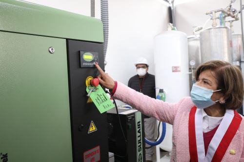 San Marcos inaugura planta de oxígeno medicinal para la lucha contra la pandemia