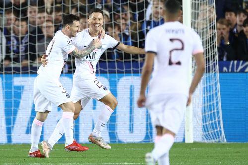 París Saint-Germain iguala 1 a 1 ante el club Brujas por la Champions League