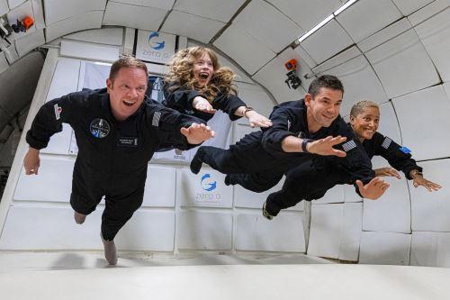 Los viajeros tendrán una espectacular visión del espacio gracias a una cúpula de vidrio que será descubierta 13 minutos después del despegue. Foto: Inspiration4 / John Kraus