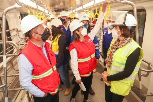 Ministro de Transportes inspecciona tramo de la Carretera Central en Santa Anita con miras a reabrir el tránsito vehicular