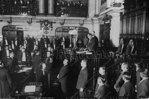 Homenaje: Imágenes históricas por el 199 aniversario del Congreso de la República