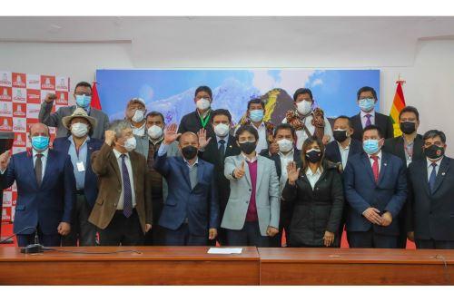 MTC presenta a las empresas que se encargarán de la construcción y supervisión del Aeropuerto Internacional de Chinchero