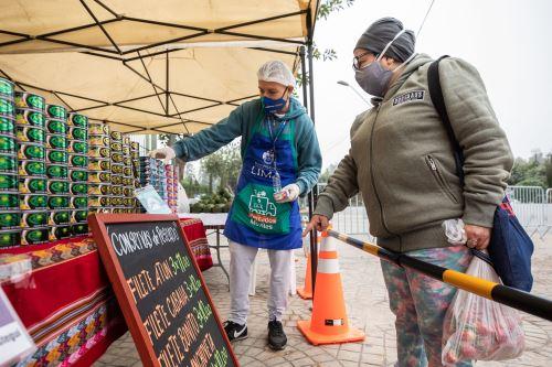 Municipalidad de Lima  promueve los Mercados Móviles en el Cercado de Lima