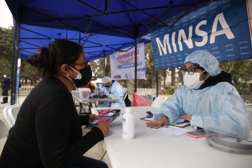 Minsa supervisa campaña de Salud en San Juan de Lurigancho