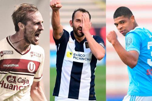 Los tres equipos más importantes del país vuelven a la cancha este fin de semana. Foto: Twitter Liga 1