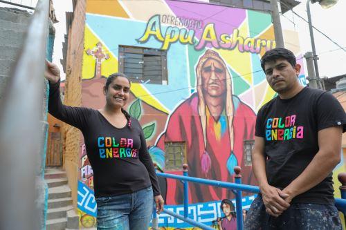 Arte e identidad en Lima : Los muralistas del San Cristóbal