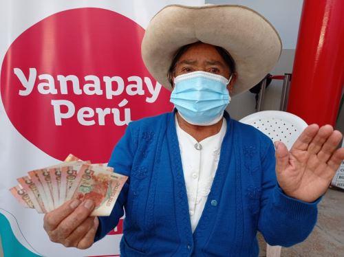 Beneficiaria de esta ayuda económica. Foto: ANDINA/Difusión.