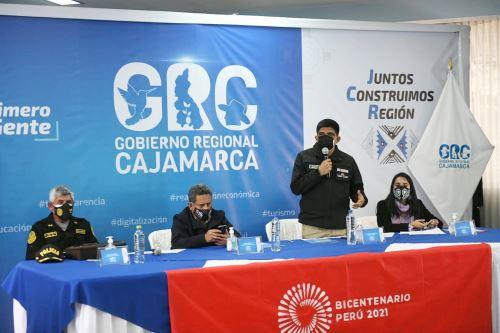 Mininter y GORE Cajamarca firman convenio para reforzar la seguridad de la región