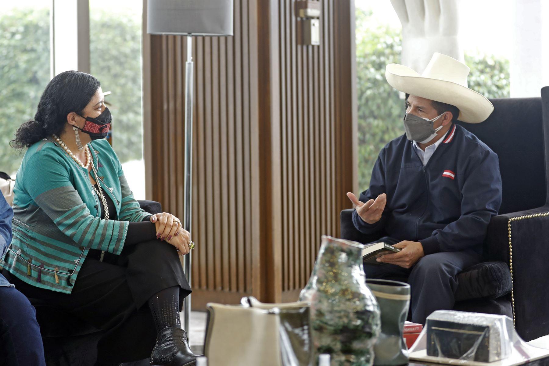 El presidente Pedro Castillo arribó a la ciudad de México, donde asistirá mañana a la VI Cumbre de la Comunidad de Estados Latinoamericanos y Caribeños (Celac). Foto: ANDINA/Prensa Presidencia