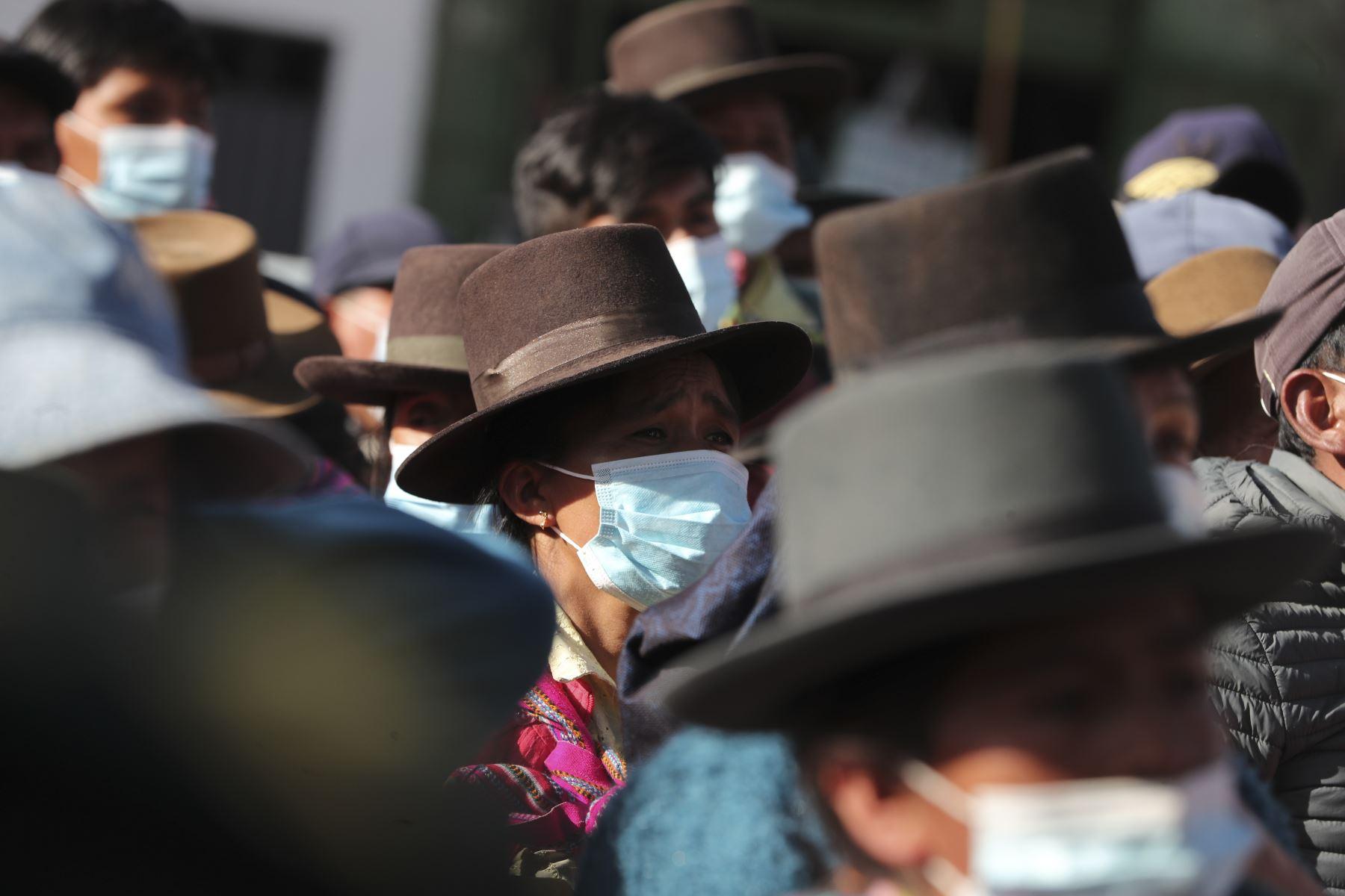 El presidente del Consejo de Ministros, Guido Bellido, llegó a Andahuaylas, región Apurímac, para reunirse con autoridades y tratar las necesidades más urgentes en salud, agricultura, reactivación económica, educación y transportes en esta zona del país. Foto: PCM