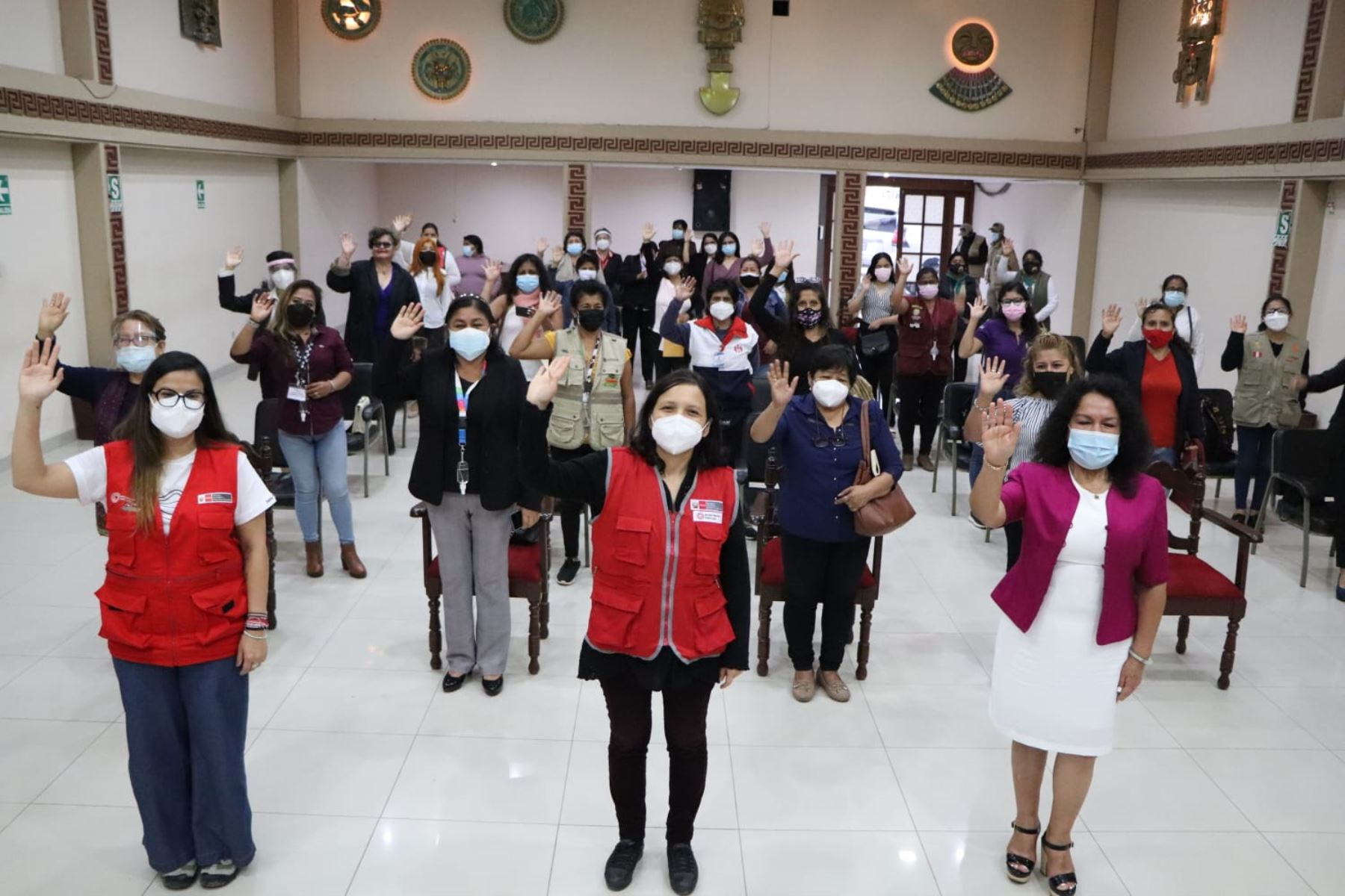 """La ministra de la Mujer y Poblaciones Vulnerables, Anahí Durand,  encabezó """"Dialogando Juntas"""", encuentro del MIMP con las mujeres organizadas de la región. Foto: MIMP"""