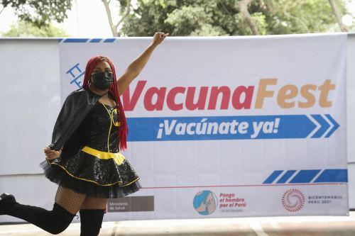 Nuevo Vacunafest en San Martín de Porres. Foto: ANDINA/Carla Patiño