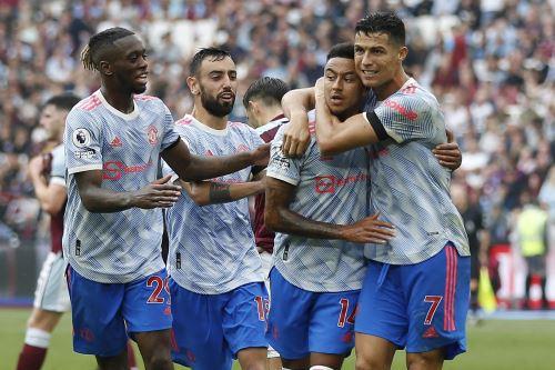 Manchester United derrota 2-1 al West Ham por la Premier League