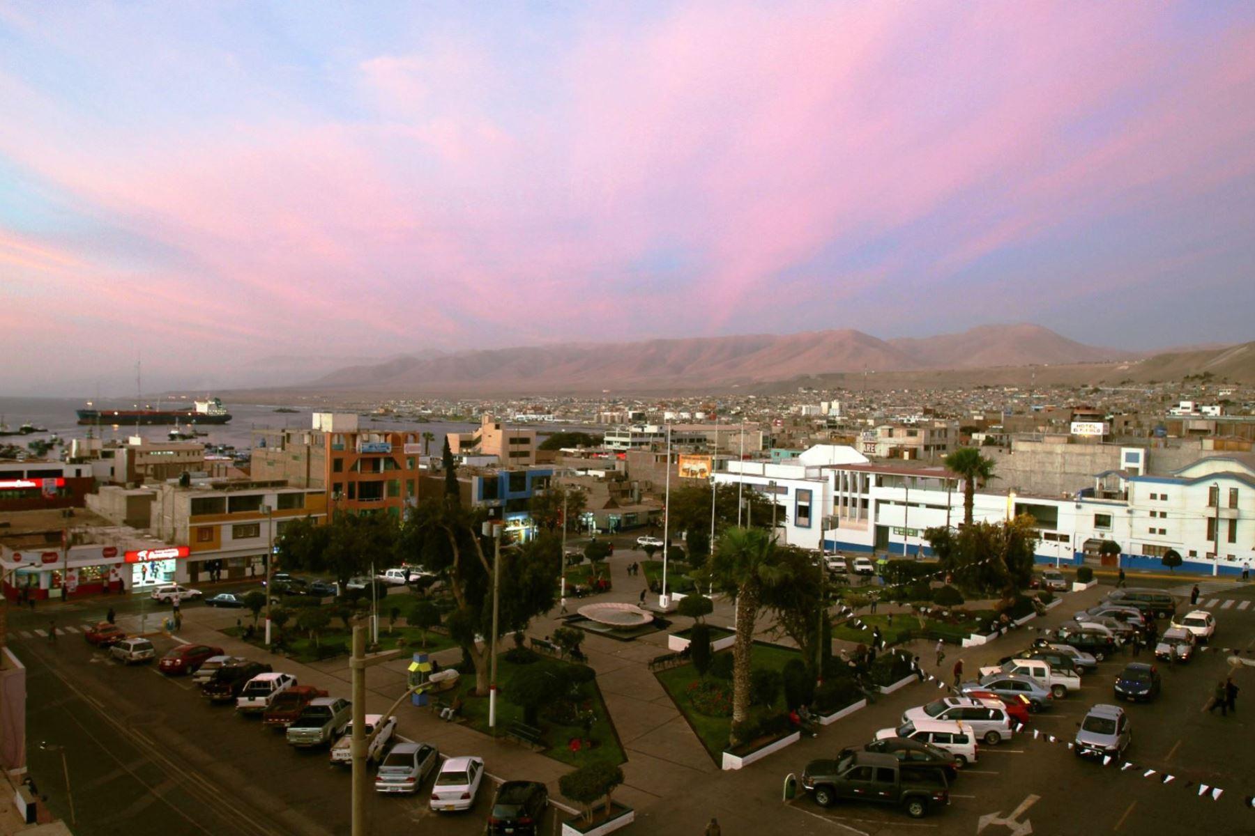 La ciudad de Ilo, en Moquegua, fue remecida esta mañana por un sismo de magnitud 4.1, informó el IGP. ANDINA/archivo