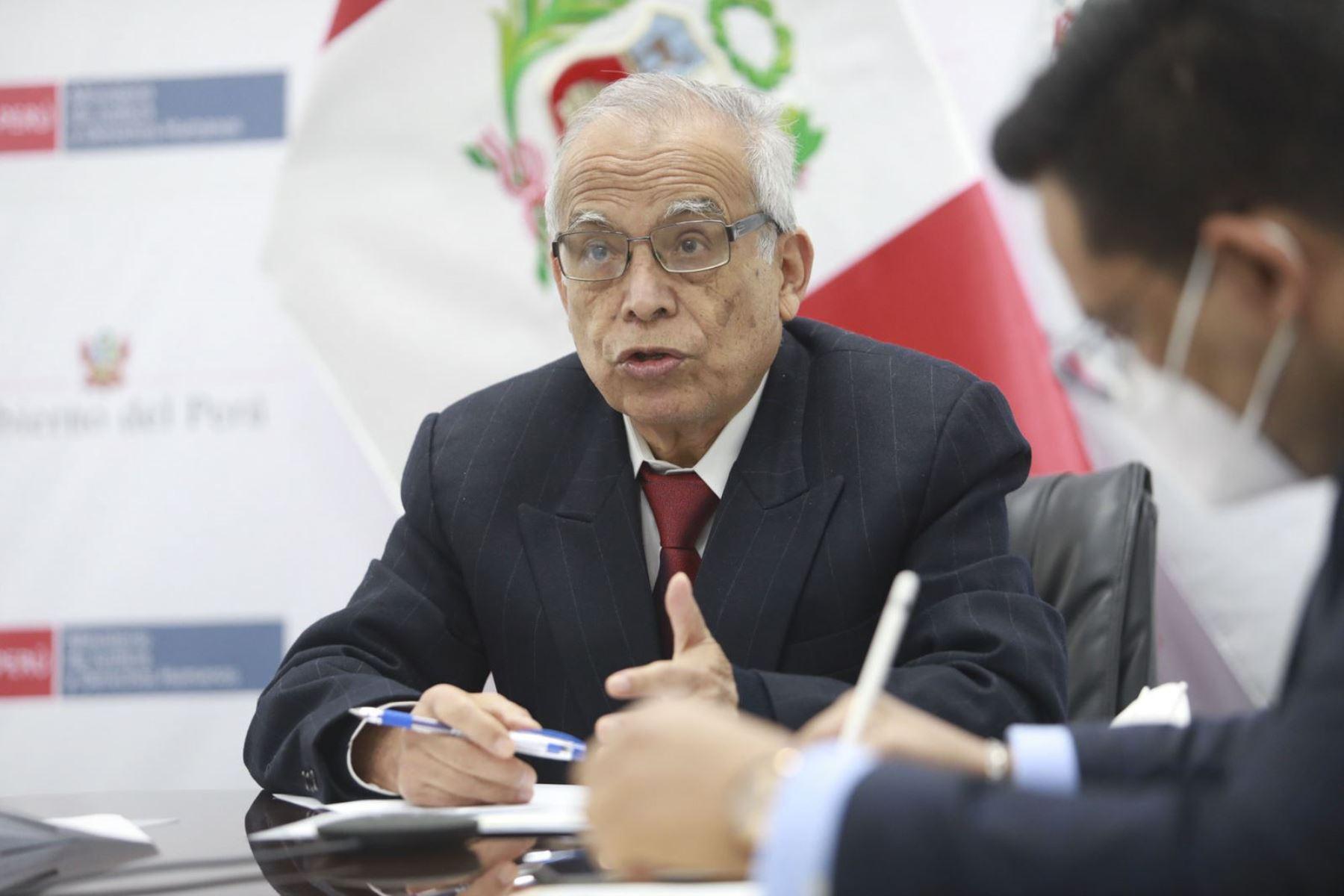 Aníbal Torres: romper el equilibrio de poderes es acabar con la democracia