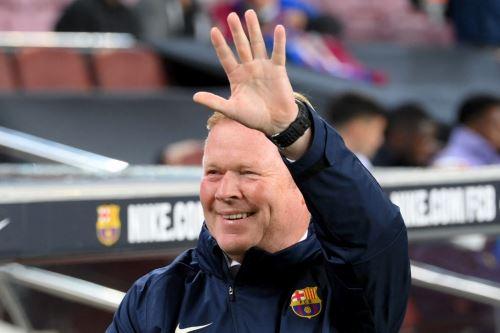 Ronald Koeman es centro de criticas en el Barcelona
