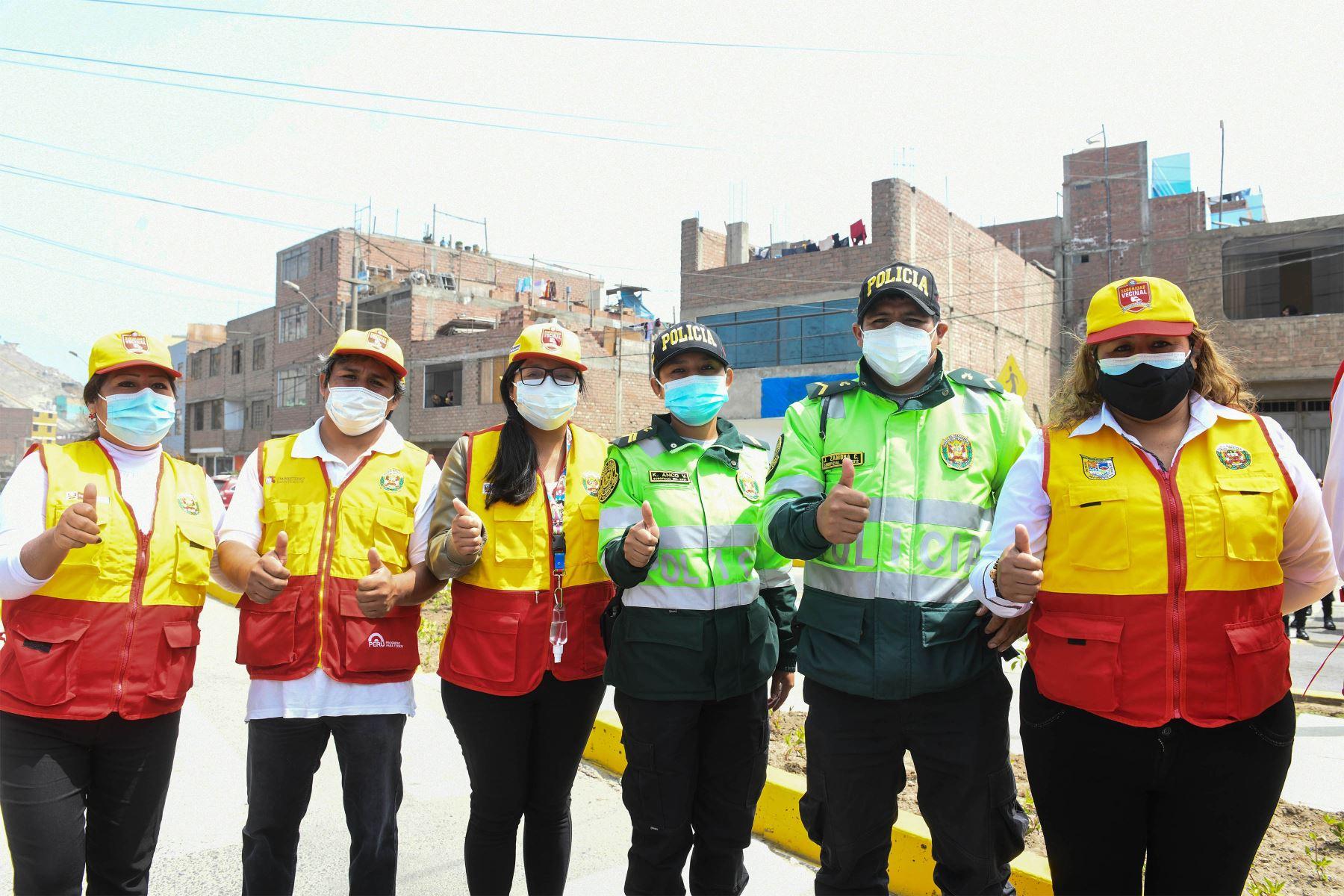 Viceministra Gabriela Paliza destacó que también se impulsará labor comunitaria con las juntas vecinales. Foto: Mininter.