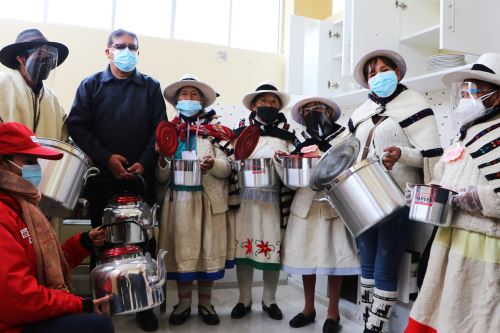 Junín: Inauguran Casa del Adulto Mayor en Santa Bárbara de Carhuacayán a más de 4 mil de altitud