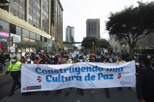 """Ministerio de Cultura organiza pasacalle """"Construyendo una Cultura de Paz"""""""