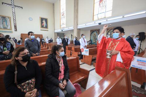 EsSalud organiza una misa por la Semana del Donante de Órganos y Tejidos