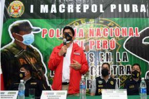 Desde Piura, el ministro del Interior, Juan Carrasco, dio detalles del megaoperativo que permitió desbaratar la organización criminal Los Despiadados de Talara.