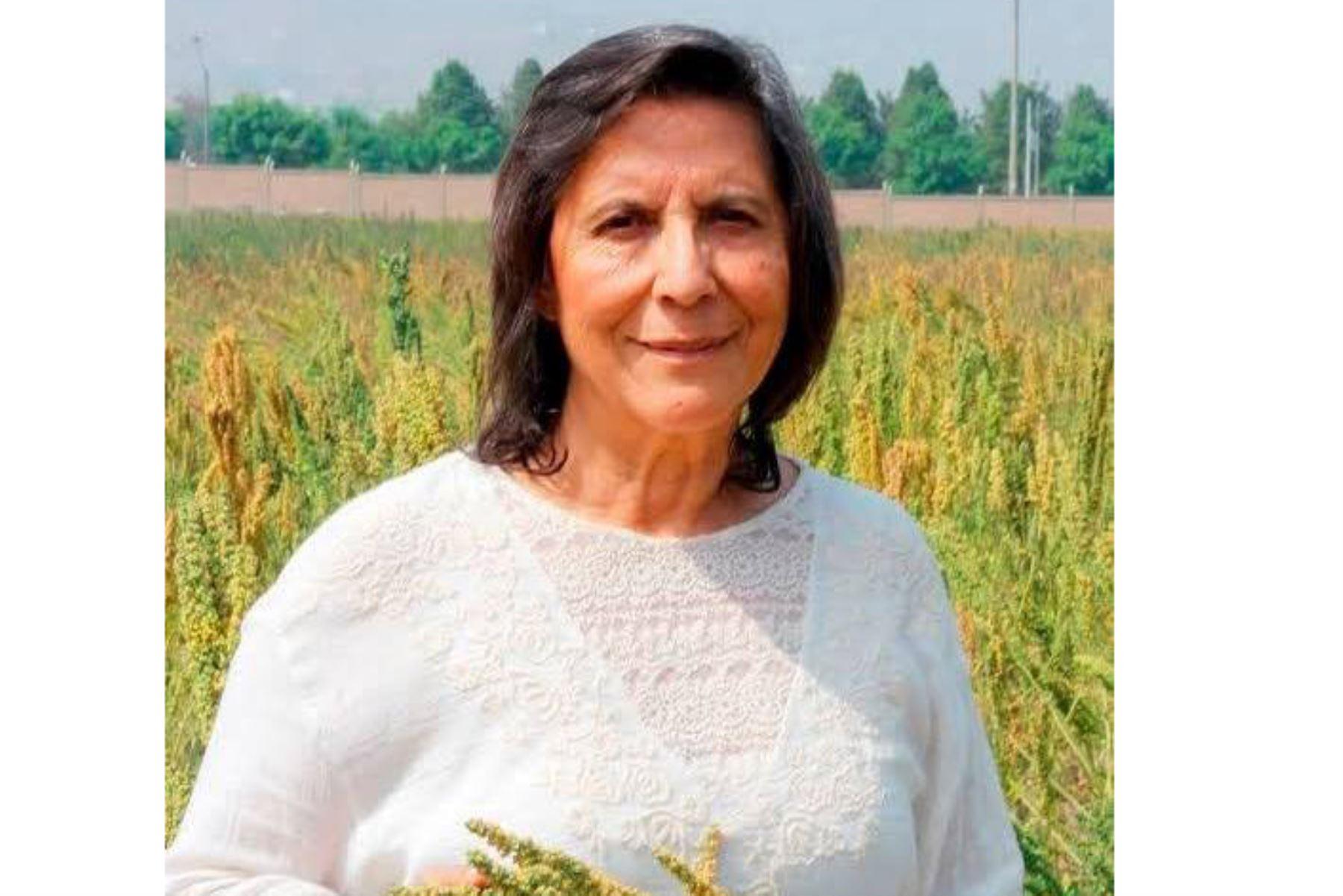 Luz Rayda Gómez-Pando es profesora principal del Departamento de Fitotecnia de la Facultad de Agronomía y jefa del Programa de Cereales y Granos Nativos de la Universidad Agraria.