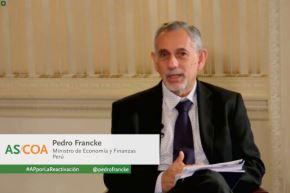 Ministro de Economía y Finanzas, Pedro Francke. Foto: ANDINA/difusión.