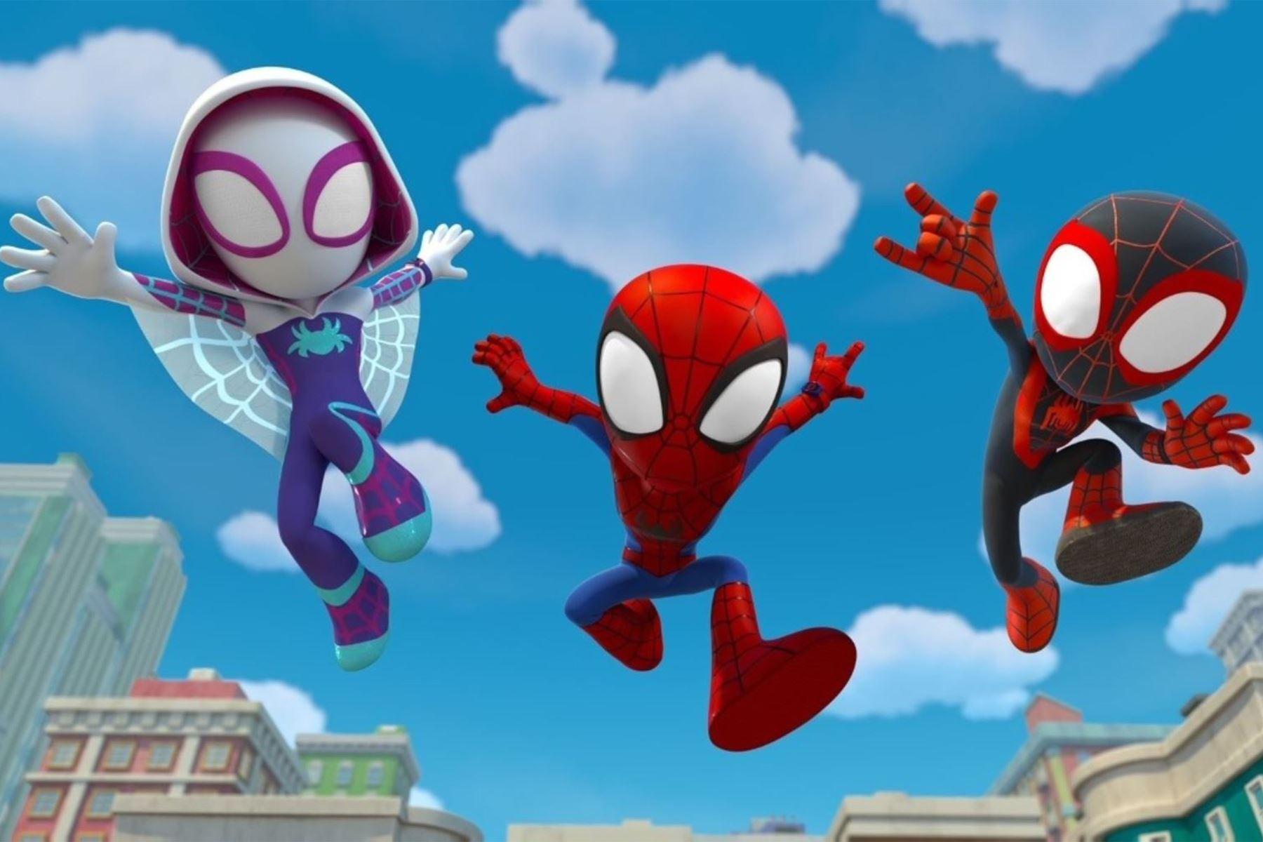"""Se estrena la serie """"Spidey"""" en Disney+."""