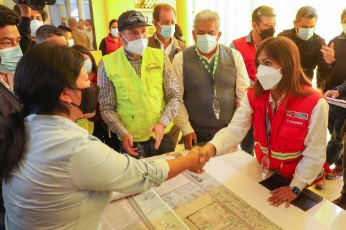 Viceministra de Transportes inspeccionó la segunda calzada de la Panamericana Sur para evaluar situación de la vía