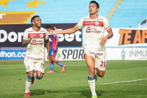 Universitario goleó 4-0 a Alianza Universidad con 3 goles de Alex Valera