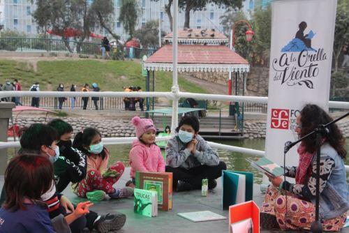 """Tradicional distrito del Rímac recibe Feria del libro """"Ciudad con cultura""""."""