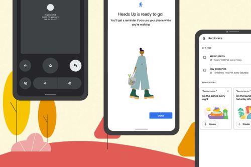 Con la función Heads Up puedes recibir recordatorios para que no olvides mirar por dónde vas y te mantengas alerta cuando caminas y usas tu teléfono. Foto: Google