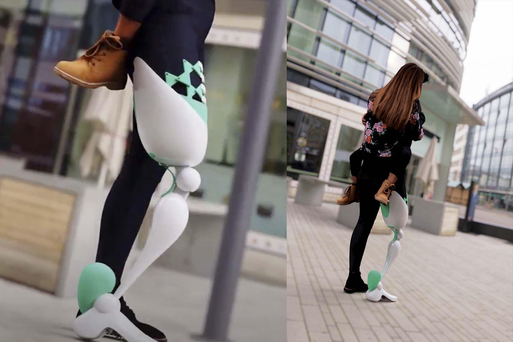 Colibrí inspira a inventores peruanos para diseñar prótesis mecánica ergonómica