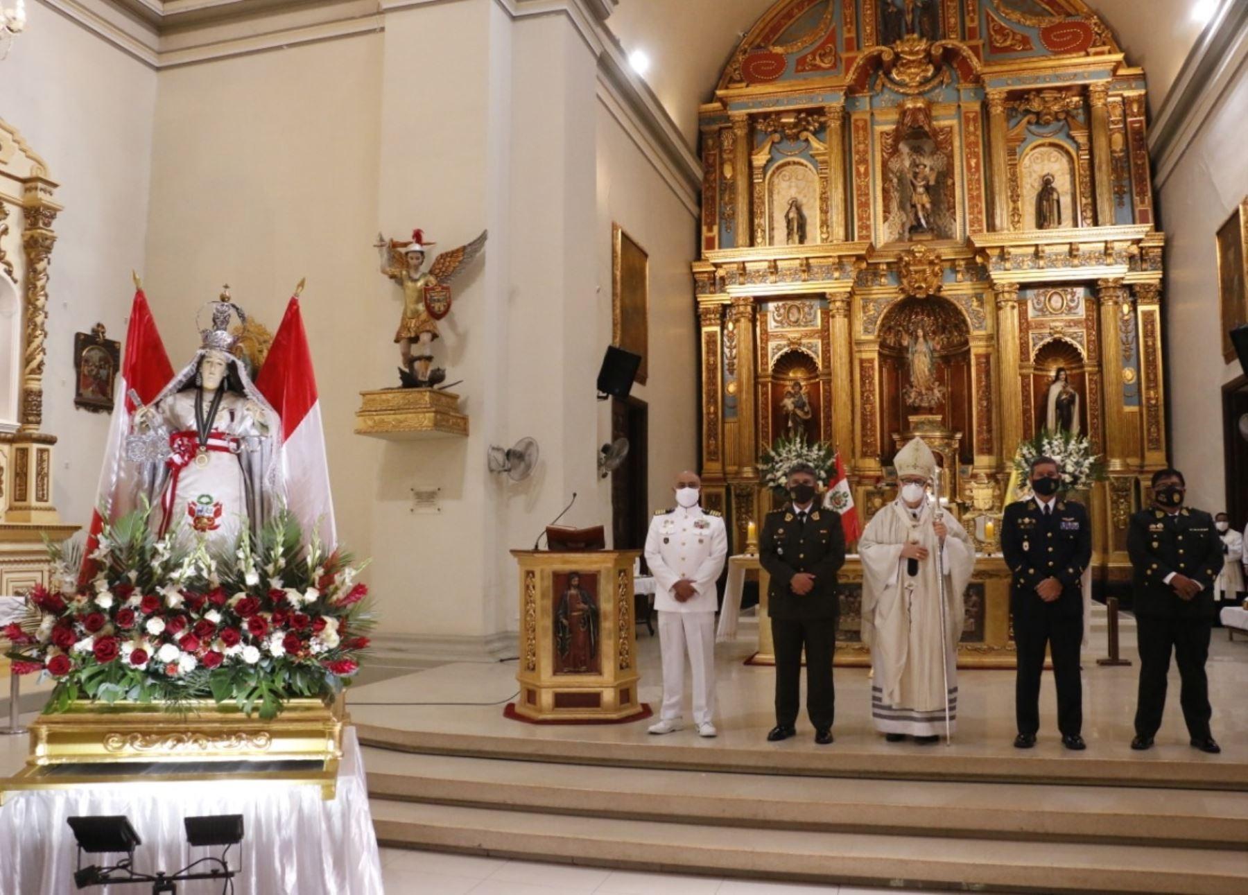 Así celebra Piura el Día de las Fuerzas Armadas y de Nuestra Señora de Las Mercedes. Foto: César Sánchez