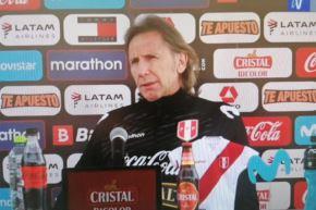 El entrenador Ricardo Gareca confía en que la selección peruana sacará buenos resultados en esta fecha triple. Foto: Captura TV