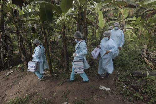Brigadas de vacunación del Minsa llegaron a Alto Amazonas para inmunizar contra la covid-19