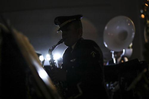 Banda Conjunta de las Fuerzas Armadas ofreció retreta musical en el Circuito Mágico del Agua