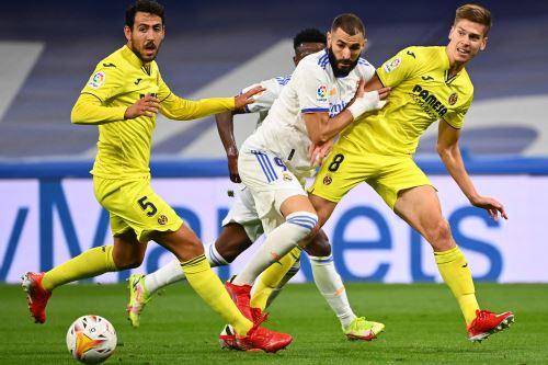 Real Madrid empata 0 a 0 con el Villarreal