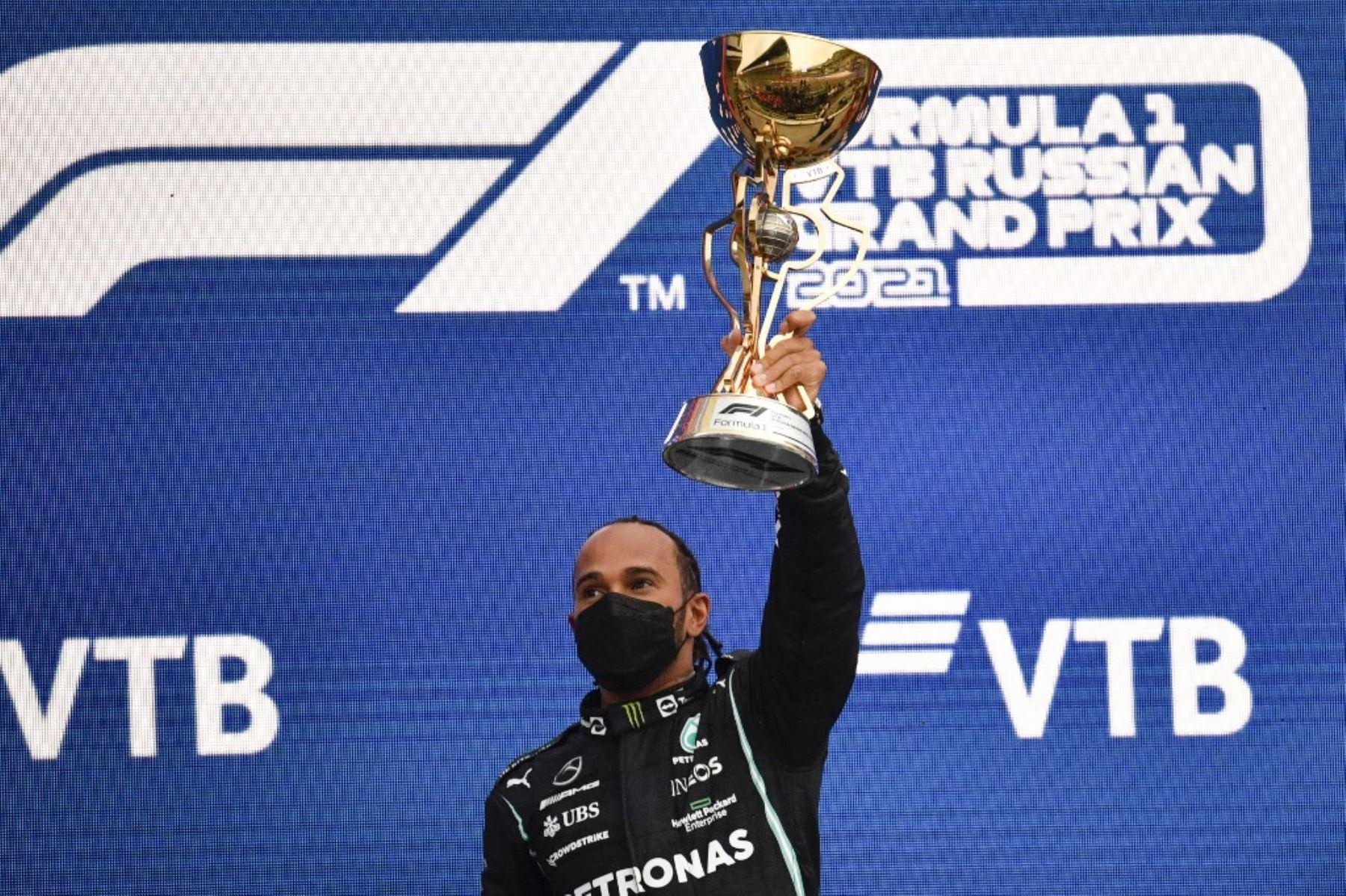 Lewis Hamilton logró su victoria cien en Sochi